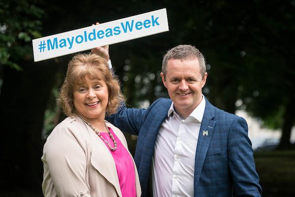 06/07/2017 Mayo Ideas Week at GMIT Mayo Campus, Castlebar, Co. Mayo. Photo : Keith Heneghan / Phocus
