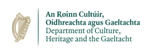 Department of Culture, Heritage & the Gaeltacht logo (Colour)